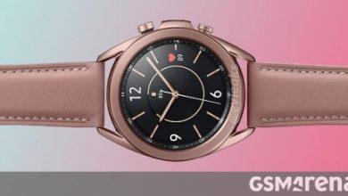 صورة إليك 41 ملم من Samsung Galaxy Watch3 باللون البرونزي