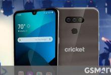 صورة LG Harmony 4 مع Android 10 وكاميرا مزدوجة وكشف النقاب عن Cricket Wireless