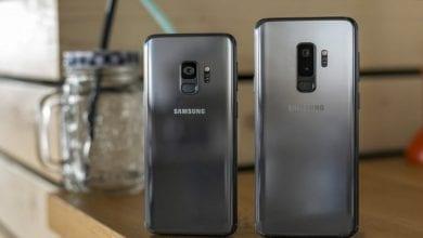 صورة Galaxy S9 و S9 + يحصلان على تحديث  واجهة One UI 2.1