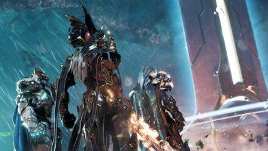 """صورة الكشف عن غلاف """"Boxart"""" لعبة Godfall على جهاز PS5"""