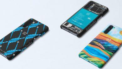 صورة بعض الأغطية الرسمية للهاتف OnePlus Nord تظهر في صورة رسمية مسربة جديدة