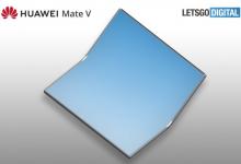 صورة تسريبات تشير إلى بدء تطوير هاتف هواوي القابل للطي Mate V