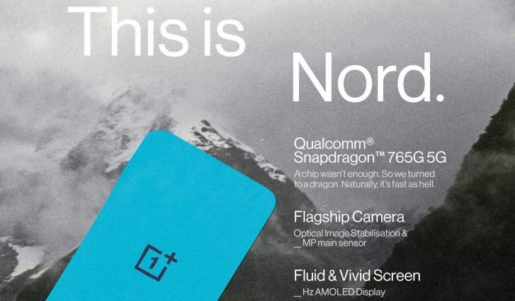 تكشف الصور المسربة OnePlus Nord عن التصميم ، وأكدت شاشة AMOLED رسميًا