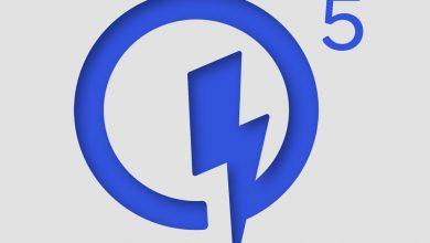 صورة تمنحك تقنية Quick Charge 5 من Qualcomm الهواتف نسبة 50 بالمائة في غضون خمس دقائق