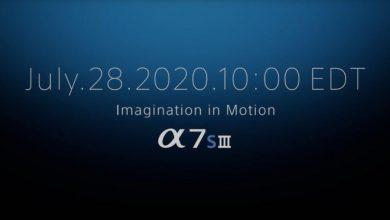 Photo of تم تأكيد إطلاق Sony A7S III – إليك ما يمكن توقعه من منافسة Canon EOS R5