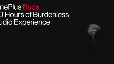 صورة سماعات OnePlus Buds تعد بتوفير 30 ساعة من الإستخدام المتواصل مع علبة الشحن