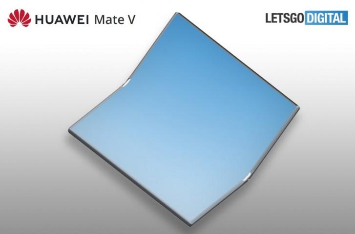 قد يكون Huawei Mate V في طريقه ، قابل للطي للداخل