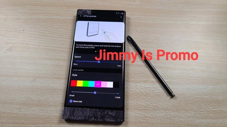 قلم S Pen من Samsung Galaxy Note20 ليعمل كمؤشر