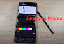صورة كشفت Galaxy Note 20 Ultra من سامسونج عن وجود أشرطة فيديو عملية مسربة