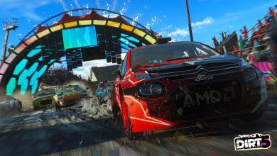 صورة لعبة DIRT 5 ستعمل بسرعة 120 إطار في الثانية على جهاز PS5