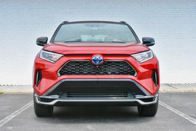 مراجعة سيارة تويوتا Rav4 Prime Xse 2021 طبيعية جديدة مجمع التقنية Tech Complex