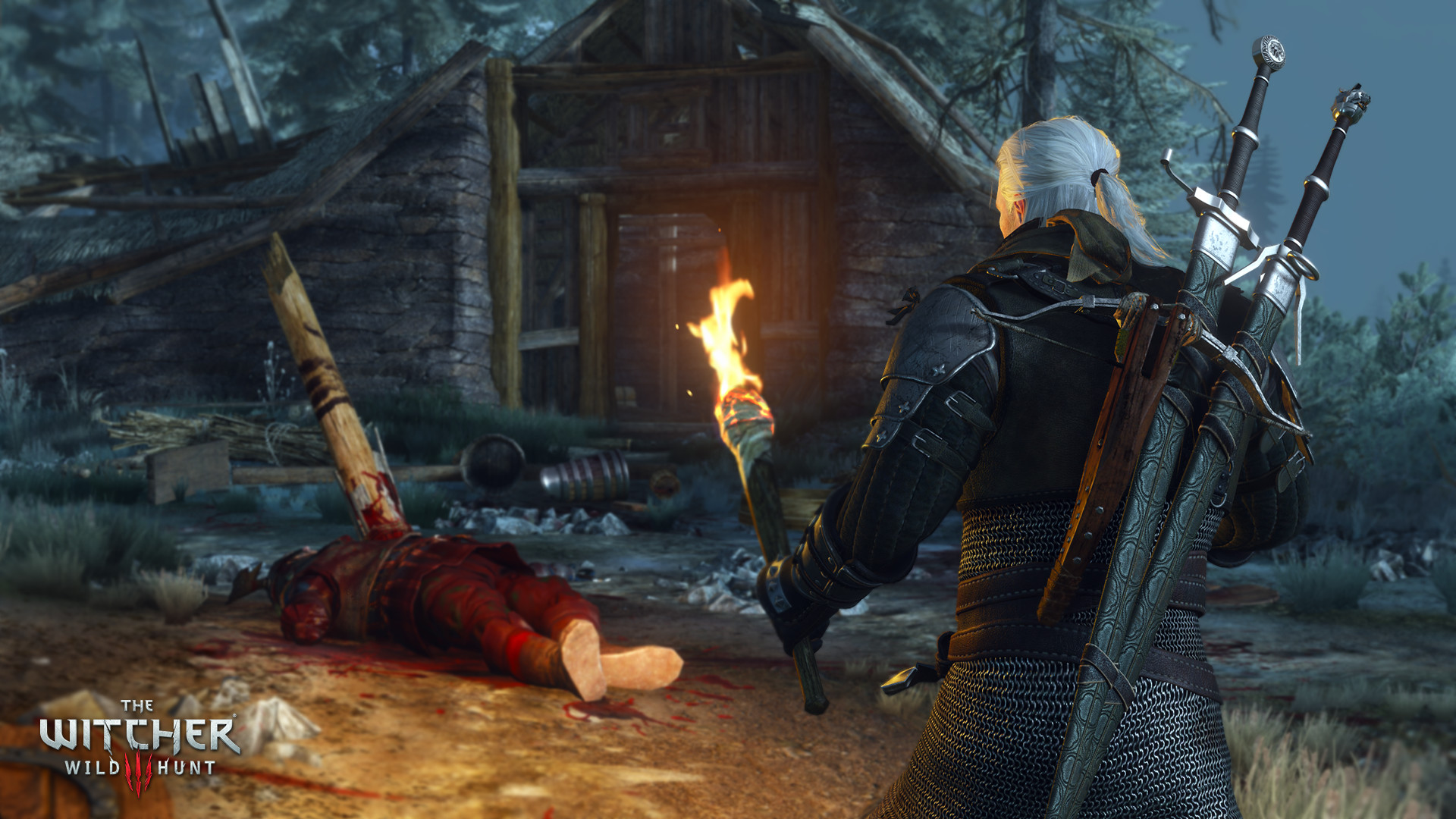 The Witcher 3 HD Reworked PC CD Projekt Red