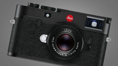 صورة يشبه جهاز Leica M10-R صورة M10 Monochrom التي تلتقط صورًا ملونة بدقة 40 ميجابكسل