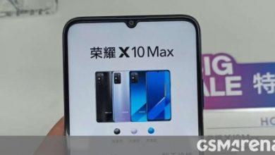 صورة يظهر Honor X10 Max في المزيد من الصور الحية