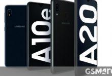 صورة يحصل كل من Samsung Galaxy A10e و Galaxy A20 من Verizon على Android 10