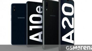 Photo of يحصل كل من Samsung Galaxy A10e و Galaxy A20 من Verizon على Android 10