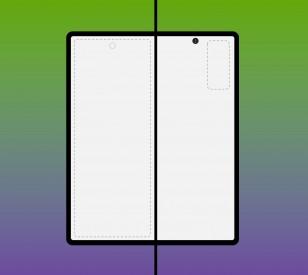 يعرض Galaxy Z Fold 2 تصميمًا