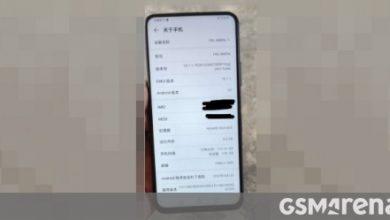 Photo of كشفت المواصفات الرئيسية عن Huawei Enjoy 20 بالصورة الحية
