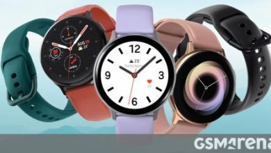 صورة إطلاق Samsung Galaxy Watch Active2 LTE Aluminium في الهند