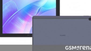 صورة تسريب أداء اللوحيين Huawei MatePad T10 / T10s بواسطة Geekbench