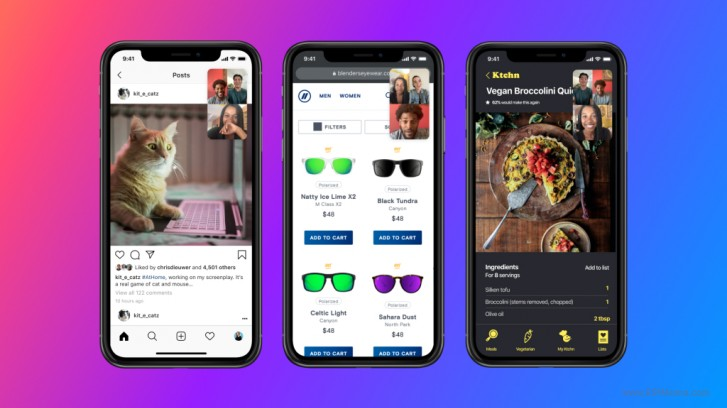 يضيف Facebook Messenger مشاركة الشاشة عبر مكالمات الفيديو على Android و iOS