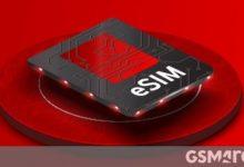 صورة تقدم Vodafone India دعم eSIM لمستخدمي iPhone