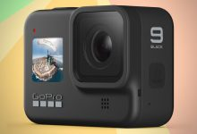 صورة تظهر صورة GoPro Hero 9 المُسربة أنها يمكن أن تحتوي على شاشة أفضل من التي تملكها DJI Osmo Action