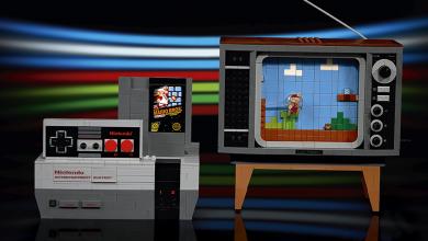 LEGO تعلن رسمياً عن مجموعة NES الجديدة التي تتضمن 2600 قطعة مع لعبة Super Mario