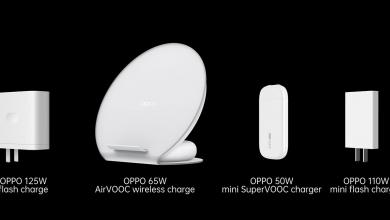 Oppo تكشف رسمياً عن تقنية الشحن السريع بقوة 125 واط والشحن اللاسلكي AirVOOC بقوة 65 واط