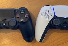 أحدث الصور التي تكشف عن أوجه الإختلاف بين PS5 DualSense وPS4 DualShock
