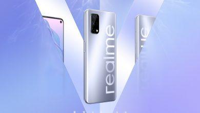 صورة Realme تُشوق لقدوم الهاتف Realme V5 مع أربع كاميرات في الخلف