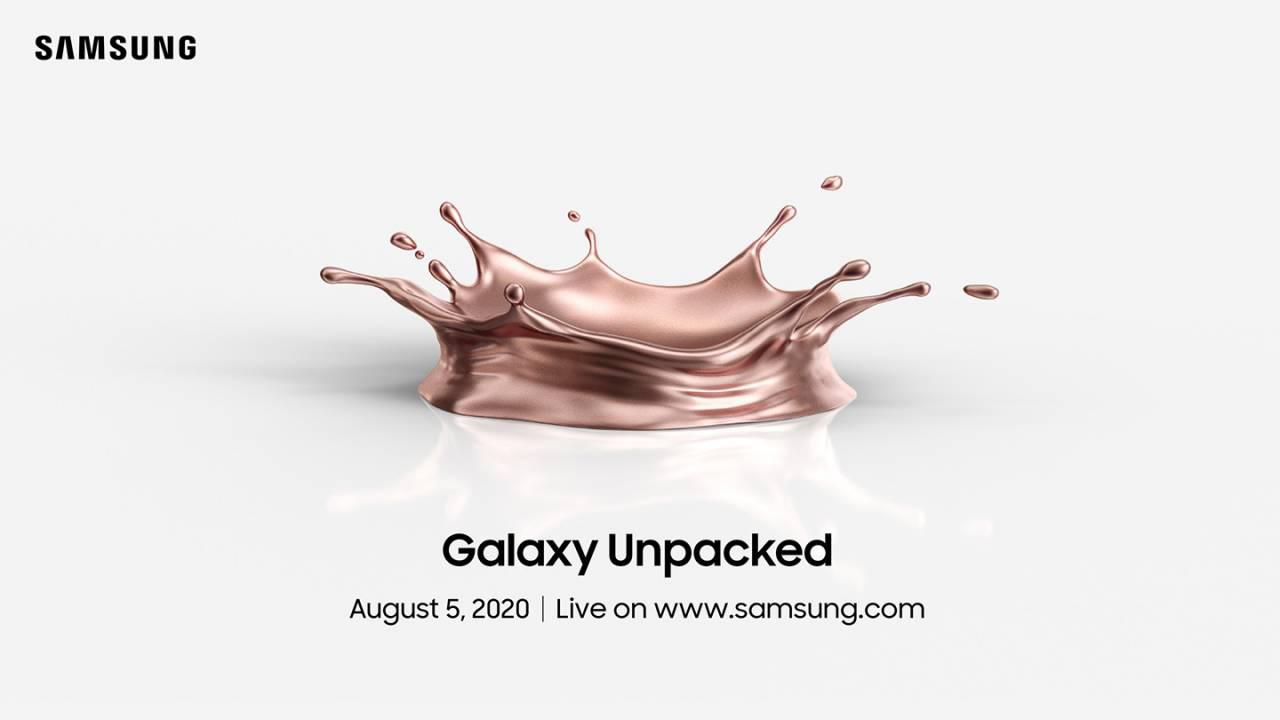 سامسونج تعلن رسمياً عن موعد حدث Galaxy Unpacked في 5 من أغسطس
