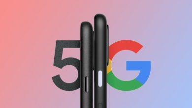 صورة ادعى Google Pixel 4a 5G و Pixel 5 5G تسرب أنه يبدأ من 499 دولارًا
