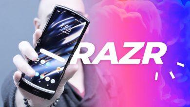 Photo of الهاتف Motorola Razr 2020 يظهر في صور مسربة واقعية جديدة