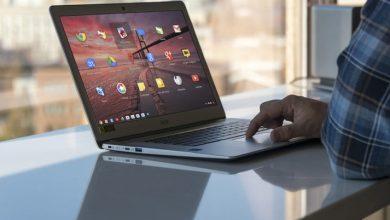 صورة كيفية النسخ واللصق على جهاز Chromebook
