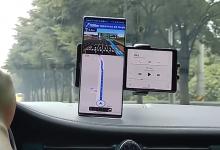 صورة هاتف LG Wing ذو الشاشة المزدوجة الدوار حقيقي ، إليك الفيديو