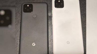 صورة يظهر Google Pixel 5 و 4a 5G في صورة حقيقية ، مع الكشف عن المزيد من المواصفات
