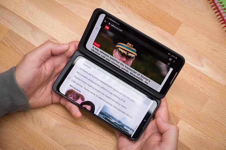 LG G8X ومراجعة الشاشة المزدوجة