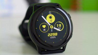 صورة مراجعة الساعة الذكية : Samsung Galaxy Watch Active