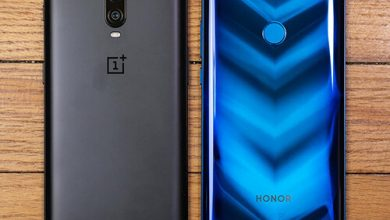 صورة OnePlus 6T مقابل Honor View20