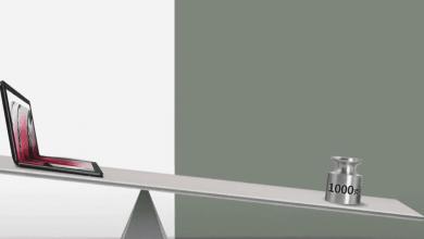 صورة إعلان تشويقي جديد من لينوفو لأول جهاز حاسب بشاشة قابلة للطي THINKPAD X1 FOLD