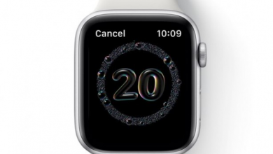 ابل تطلق الإصدار التجريبي العام من تحديث WatchOS 7