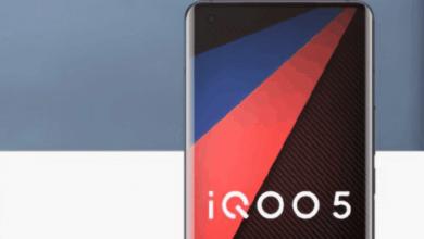 صورة أول الصور التي توضح التصميم المتوقع لهاتف IQOO 5 المرتقب