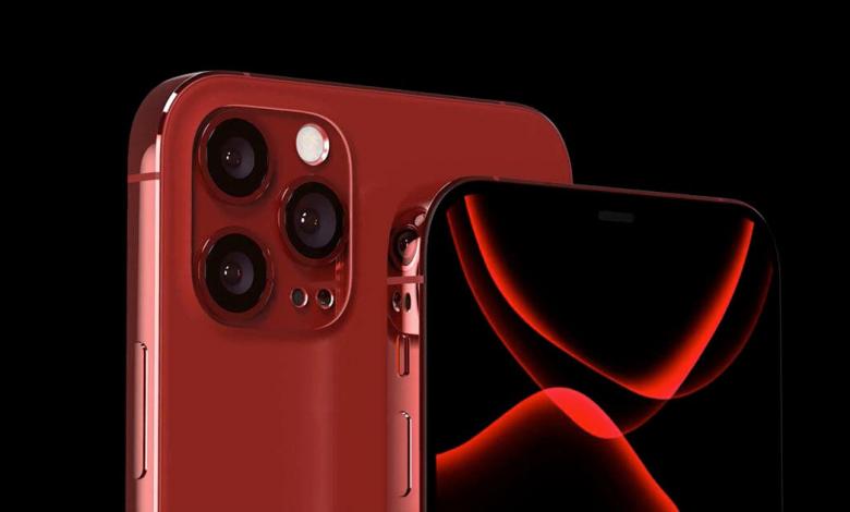 صورة ابل تقدم هاتفها المرتقب IPHONE 12 PRO بألوان الأزرق والأحمر