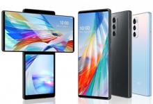 صورة الإعلان الرسمي عن هاتف LG Wing بشاشة قابلة للتدوير ومعالج Snapdragon 765G