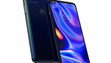 صورة الإعلان الرسمي عن هاتف Motorola one 5G برقاقة معالج Snapdragon 765