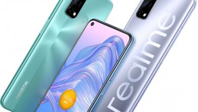 صورة الإعلان الرسمي عن هاتف Realme V5 5G بمعالج Dimensity 720 وسعر 214 دولار