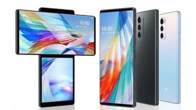 صورة الإعلان رسميًا عن الهاتف LG Wing مع شاشتين، وتصميم دوار فريد من نوعه