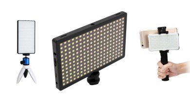 صورة الطاقة المحمولة: تعلن شركة LituFoto عن لوحات إضاءة LED محمولة ميسورة التكلفة