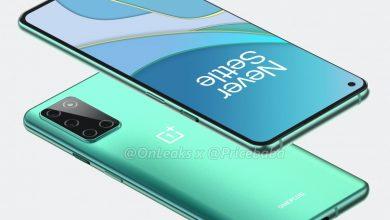 صورة الهاتف OnePlus 8T يظهر في صور حاسوبية جديدة، وإليكم كيف سيبدو